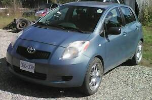 2008 Toyota Yaris Hatchback TRADE for truck (Quesnel)