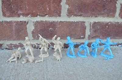 Paragon Tssd Alamo Texans Mexican Regulars 60Mm Toy Soldiers Infantry