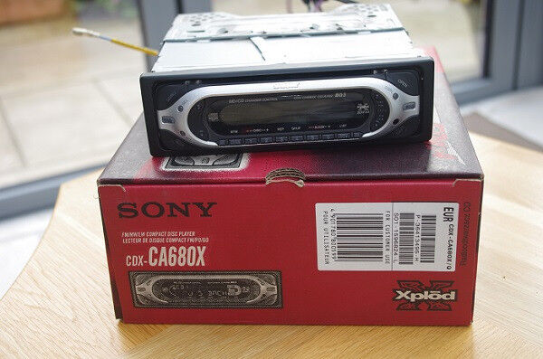 Sony Xplod CD player