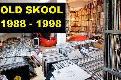 Old Skool Progressive Tribal Prog House 1988-1998 Vinyl Collection Change to MP3