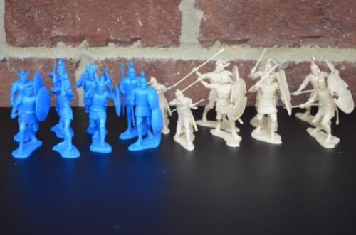 War at Troy Trojans Greeks Infantry Figures 60MM Toy Soldiers LOD Enterprises