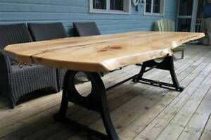 Live Edge and Reclaimed Wood Tables Christmas Sale