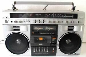 WANTED candle JTR 1287 boombox