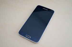 Samsung Galaxy s5 black unlocked and rooted