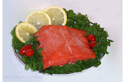 Wild Caught Sockeye Smoked Salmon  Deliciousness 2-2.5 Lb Pack