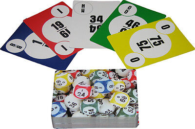 BINGO calling cards (deck of 75) home party plan consultant game (Bingo Party)