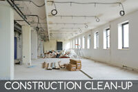 Looking for post construction cleaning work