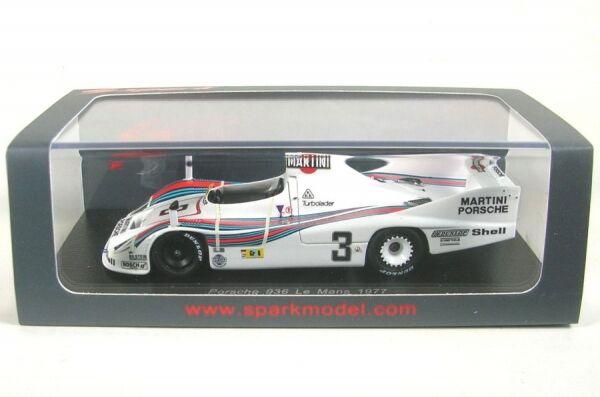 Porsche 936 Martini No. 3 LeMans 1977 (H. Pescarolo - J. Ickx)