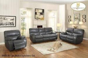 Grey Recliner Set for Living Room MA10 8480GRY-1(BD-1385)