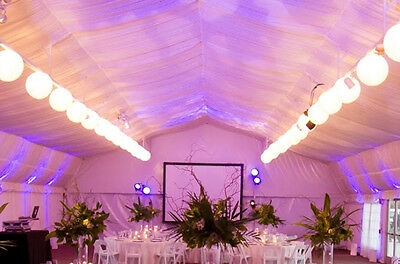 Use a smoke machine in a marquee!