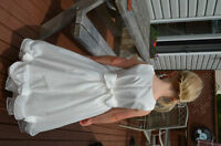 Ivory Flower Girl Dress size 4