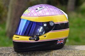 Helmet, motorcycle, quad, race custom painting