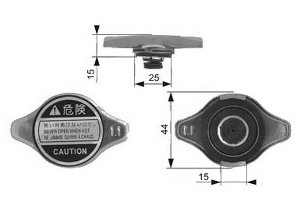 Lexus Is Mk1 Mk2 1999-2016 Radiator Cap Accessory Spare Replacement Part