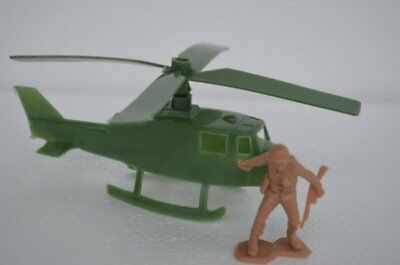 MPC US Helicopter Aircraft Military Toy Soldier Green
