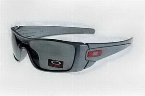 Gray Lens Oakley Batwolf Sunglasses Gray Blue Frame