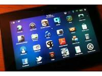 Blackberry tablet 16gb menory/ for sale or swaps