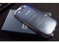 Samsung Galaxy s3 unlocked any network ***like brandnew***40% off 100% original phone