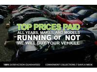 Scrap your car MANCHESTER !! Best price paid