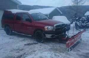 2006 Dodge Ram 1500 Quad Cab 4x4 with Plow REDUCED TO 8,000