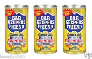 3-Cans-of-Bar-Keepers-Friend-Cleanser-Polish-for-Stainless-Steel-12-oz-NEW
