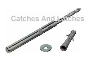 2 X 80mm CONCEALED SHELF SUPPORTS BRACKETS FOR FLOATING SHELVES MASONARY FIX