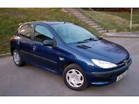 Peugeot 206 1.2 petrol chep for quic sale 5 door