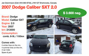 2007 Dodge Caliber SXT -- exchanged new parts!