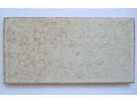 9 Wall Tiles: MARAZZI, Beige with tiny Brown Specks, good for splashback or design effect