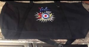 The Who poster tote bag tour book and lanyard
