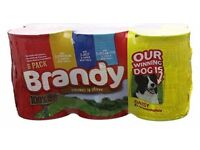 Brandy dog food 144 tins