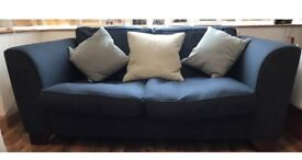 M&S Sofa Navy £10