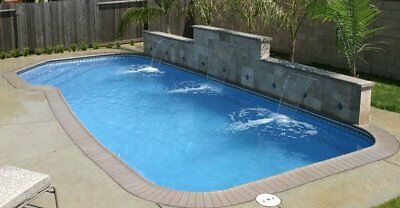 INGROUND FIBERGLASS SWIMMING POOLS 14x30X6 $12,400 COLORS AVAILABLE SAVE$$$$$$$$