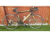 Carerra 7005 T6 Road bike hardly used