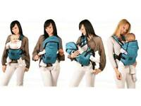 Zaffiro ergonomic 4 ways baby carrier like new red