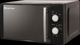 NEW 20 LITRE BLACK MANUAL MICROWAVE RHM2060B £45.99 ONLY