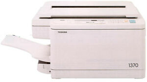 Toshiba 1370 Desktop Copier