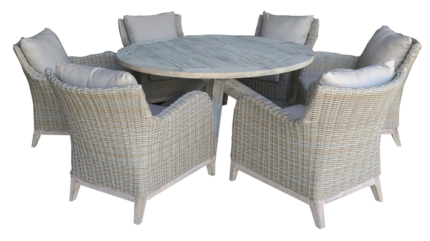 ARUBA 5 PIECE LOW DINING COLLECTION (1500)