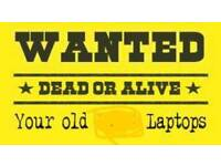 Wanted laptops