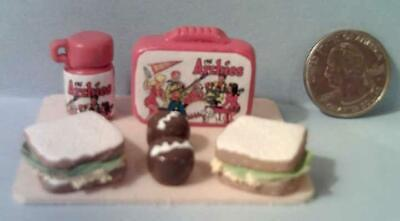 Barbie Doll Sized Archie & Friends Vintage Style Lunch Box Set