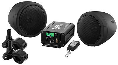 BOSS AUDIO MCBK520B Black 600 watt Motorcycle/ATV Sound Syst