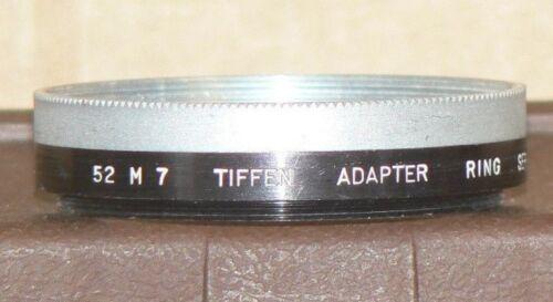 Tiffen Series 7, 52 M 7 Lens Adapter