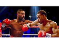 KELL BROOK V ERROL SPENCE IBF WORLD TITLE FIGHT FLOOR SEATS RINGSIDE SEATS 3 TICKETS