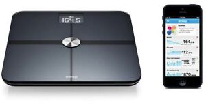 Withings WS-50 scale + heart rate + body fat + air quality (CO)