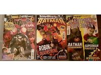 Batman New 52 UK Titan Magazine collection
