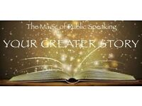 Your Greater Story - The Magic of Public Speaking - one day event, Cardiff