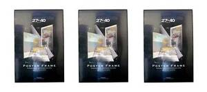 Value-Pack-Three-27x40-Movie-Poster-Frames-Solid-Backing-Assembled-27-x-40
