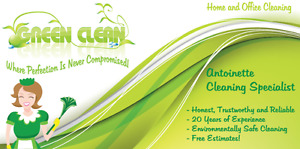 THE BEST Green Clean Home Cleaning IN OTTAWA!