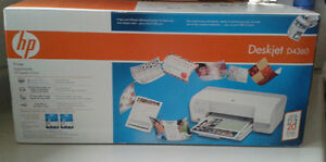 HP Deskjet Printer D4360