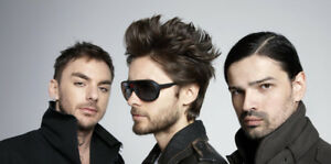 30 Seconds to Mars, Budweiser Stage, $50 for the pair