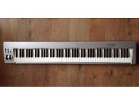 M-Audio Keystation 88es USB MIDI Semi Weighted Keyboard